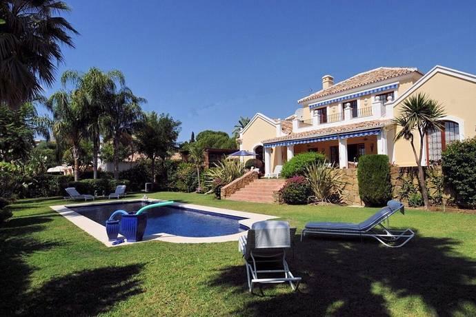 Bild: 5 rum villa på Fin villa med härlig havsutsikt!, Spanien Marbella - El Paraiso
