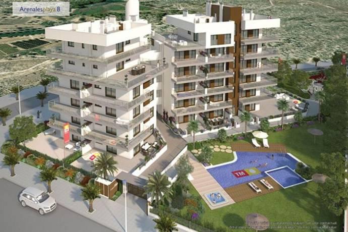Bild: 3 rum bostadsrätt på Carres Ciudad Real 3, Spanien Arenales del Sol, Alicante