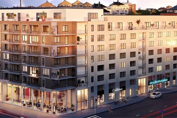 Bild: 2 rum bostadsrätt på Lövgatan 55, Solna kommun Råsunda