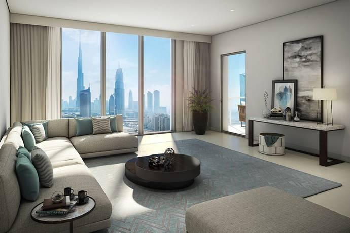 Bild: 4 rum bostadsrätt på Downtown 2 ..Dubai,UAE, Förenade arabemiraten Dubai
