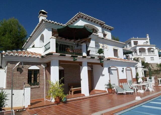 Bild: 6 rum villa på Vacker villa i Cortijo de San Rafael!, Spanien Frigiliana