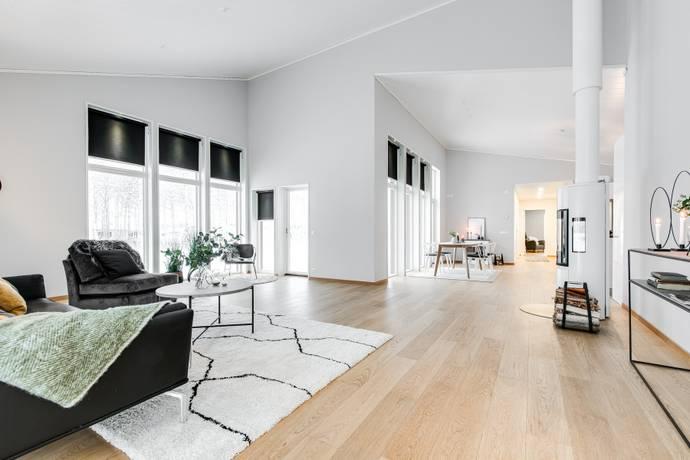 Bild: 4 rum villa på Solskensvägen 12, Bodens kommun Sävastön