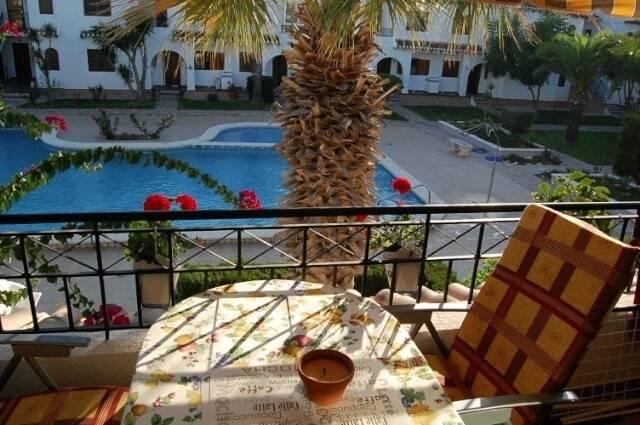 Bild: 2 rum bostadsrätt på Pool / Balkong / Nära strand, Spanien 2:a vid Stranden