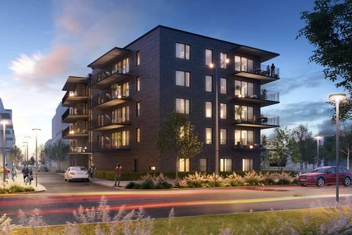 Bild: 2,5 rum bostadsrätt på Fanérgatan 2, Oskarshamns kommun