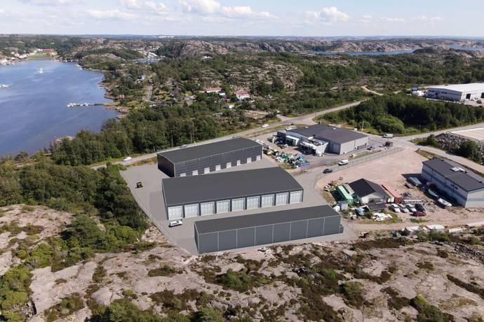Bild från Lagerlokaler med bra läge i Sotenäs Kommun!