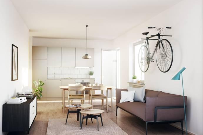 Bild: 1 rum bostadsrätt på Ulvsundavägen 1, Stockholms kommun Stora Mossen