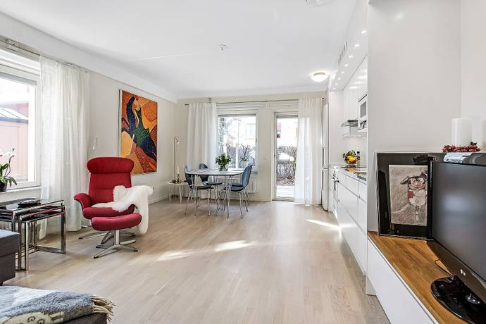 Bild: 1 rum bostadsrätt på Frodegatan 14 A, nb, Uppsala kommun Fålhagen