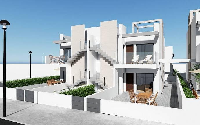 Bild: 4 rum bostadsrätt på Nytt och mkt attraktivt, lgh med 3 sovrum, Spanien Punta Prima syd Torrevieja