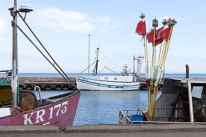 Bild: fritidshus på Kårehamn sjöbod nr 40, Borgholms kommun Kårehamn