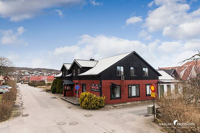 Bild: tomt på Åhusvägen 41, Båstads kommun Båstad