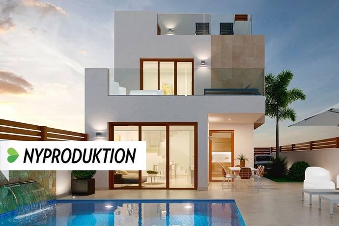 Bild: 4 rum villa på Nya strandvillor i spanska El Mojón, Spanien Torrevieja Söder - Torre de la Horadada