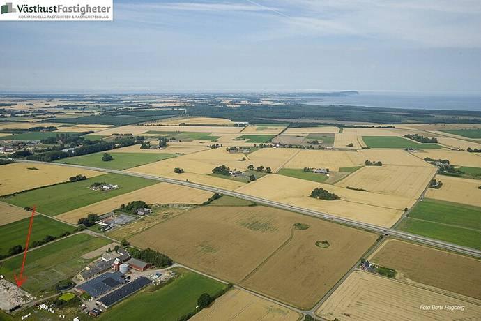 Bild: gård/skog på Strahlavägen 171, Ängelholms kommun Ängelholms kommun inland
