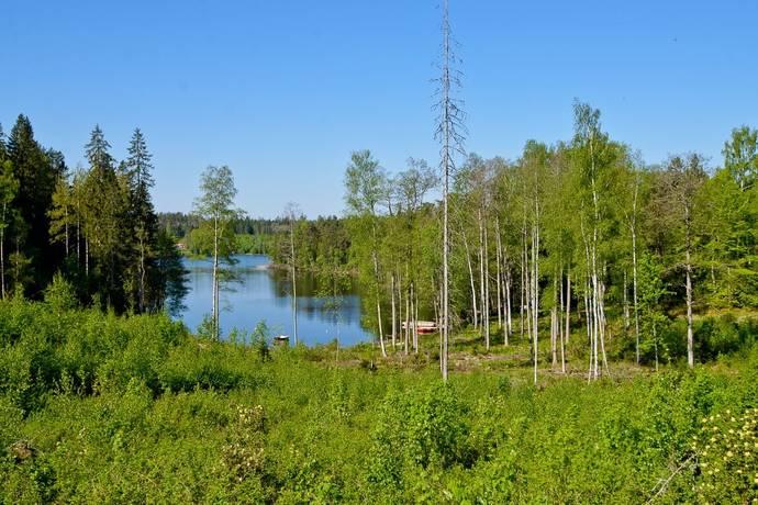 Bild: tomt på Holmen 6B, Nässjö kommun Stensjön