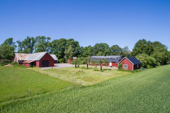 Bild: 5 rum gård/skog på Boarp 113, Falkenbergs kommun