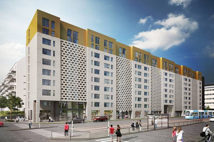 Bild: 2 rum bostadsrätt på Mölndalsvägen 87 D, Göteborgs kommun Södra centrum