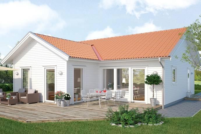 Bild: 3 rum villa på Vitabergsvägen 30, Falkenbergs kommun Stensjö