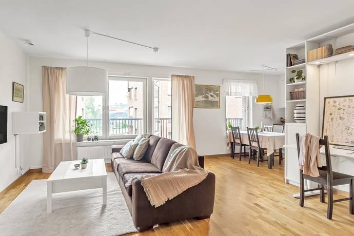 Bild: 3 rum bostadsrätt på Svartbäcksgatan 42 C, Uppsala kommun Främre Svartbäcken