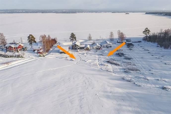 Bild: tomt på Morgärdsvägen 12 och 14, Mora kommun Bonäs