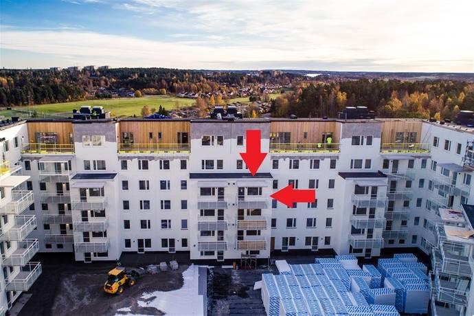 Bild: 1 rum bostadsrätt på Femstenavägen, 5, 3tr, Upplands-Bro kommun Brunna Park