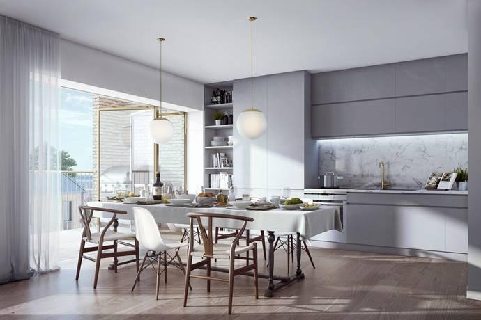 Bild: 3 rum bostadsrätt på Brf 2.0 - The Block, Sollentuna kommun Väsjön