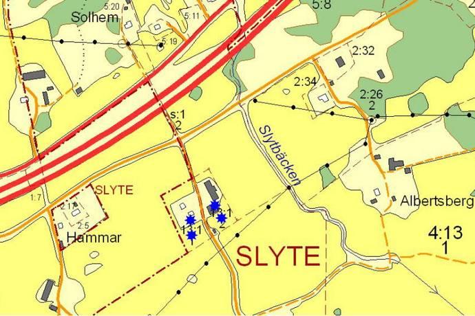Bild: tomt på Slyte 408, Örebro kommun Slyte