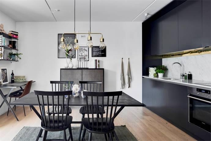 Bild: 2 rum bostadsrätt på Sjöfartsgatan 10, Stockholms kommun Hammarby Sjöstad
