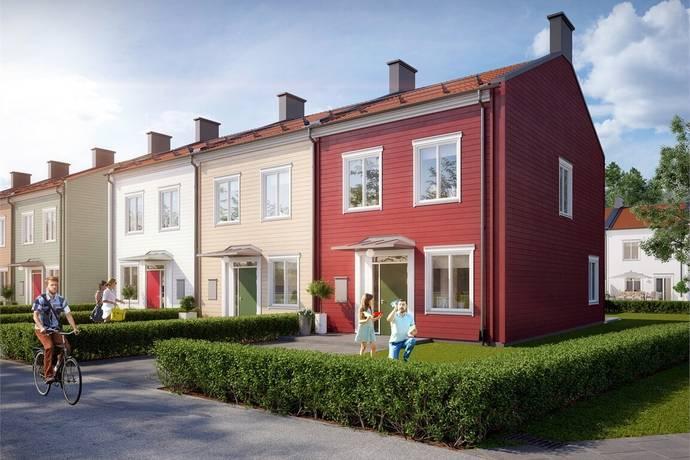 Bild: 4 rum radhus på Nattsländevägen, Eskilstuna kommun Odlaren