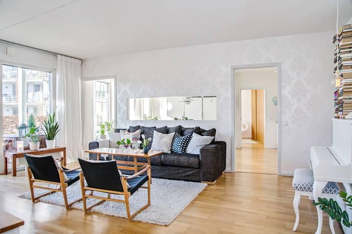 Bild: 3 rum bostadsrätt på Sickla Kanalgata 60, Stockholms kommun Hammarby Sjöstad