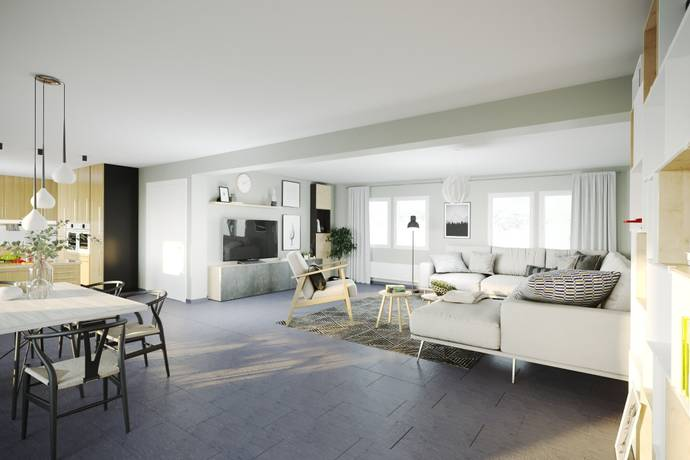 Bild: 5 rum villa på Gränsgatan 6, Ängelholms kommun Ängavången
