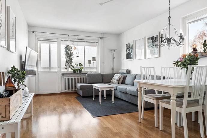 Bild: 3 rum bostadsrätt på Norra Majorsgatan 26B, Umeå kommun Haga