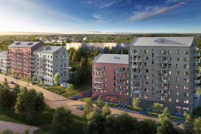 Bild: 4 rum bostadsrätt på Rissneleden 159, Sundbybergs kommun Sundbyberg