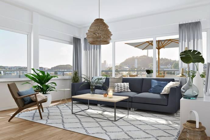 Bild: 3 rum bostadsrätt på Lagerbergsgatan, Uddevalla kommun Uddevalla Stad