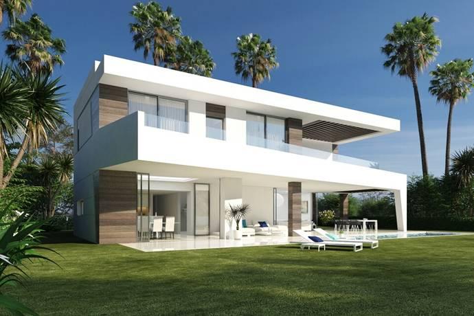 Bild: 5 rum villa på 17 fantastiska nyproduktions villor med havsutsikt, Spanien Estepona - New Golden Mile