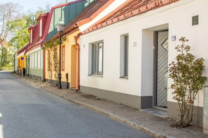 Bild: 4 rum radhus på Västra Vallgatan 38, Ystads kommun Centrum