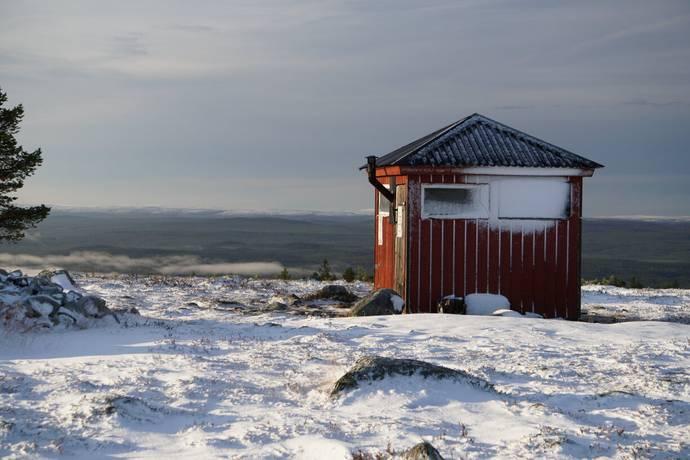 Bild: tomt på P2 - Polaris - Idre Himmelfjäll, Älvdalens kommun Idre Himmelfjäll