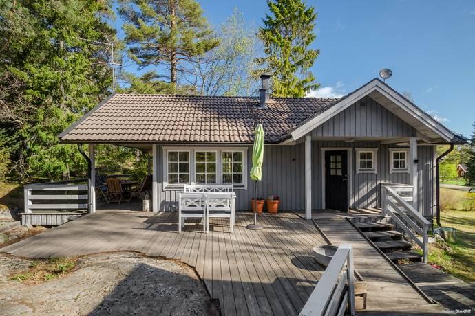 Bild: 3 rum fritidshus på Norrviksstrandsvägen 5, Värmdö kommun Bullandö