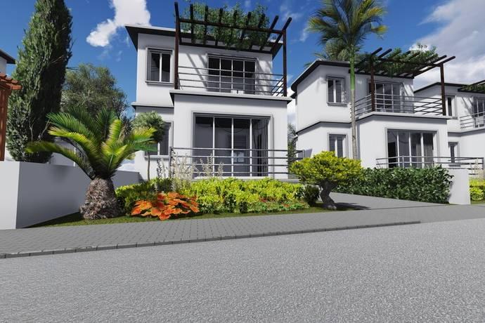Bild: 3 rum villa på Esentepe Golf Resort, minivilla 2 sovrum, Cypern Esentepe