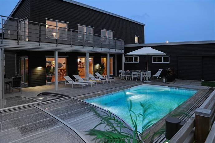 Bild: 7 rum villa på Logvägen 28, Halmstads kommun Albinsro