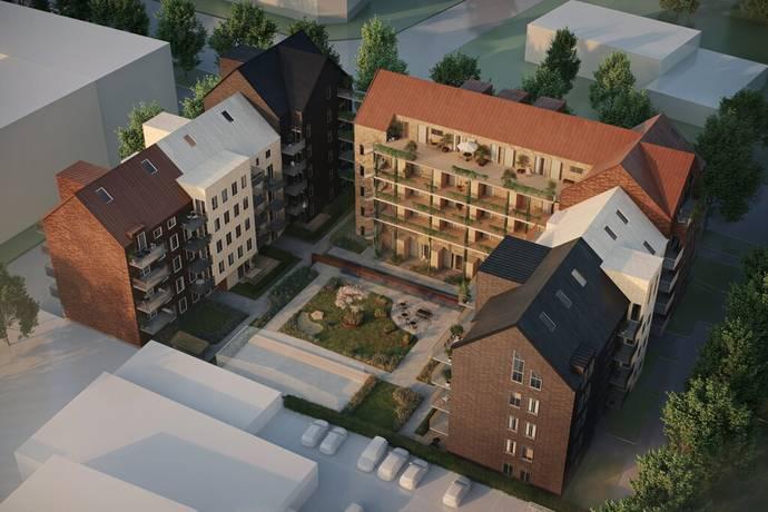 Bild från Halmstad - Brf Stadsgården