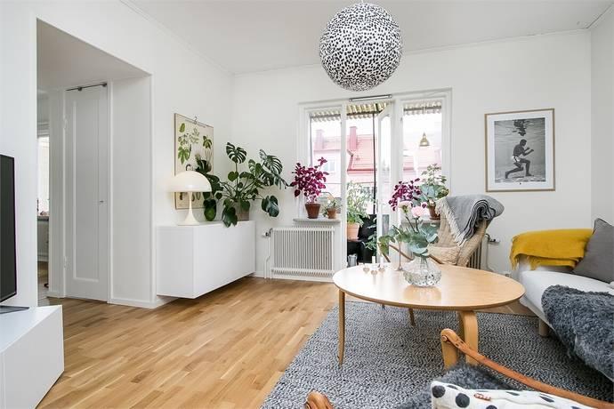 Bild: 2 rum bostadsrätt på Västmannagatan 22, Örebro kommun Centralt Väster