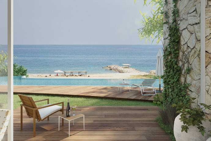 Bild: 4 rum villa på Karpasia by the sea - Carob store parhus, Cypern Esentepe