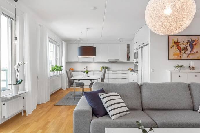 Bild: 3 rum bostadsrätt på Portalgatan 53, Uppsala kommun Kapellgärdet