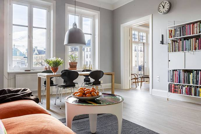 Bild: 4 rum bostadsrätt på Karlbergsvägen 20, 2tr, Stockholms kommun Vasastan