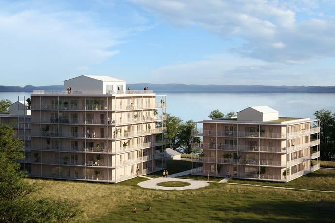 Bild från Strandängen - Ängshusen - Nya hem vid strandkanten