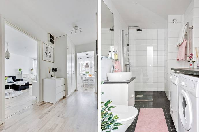 Bild: 2 rum bostadsrätt på Vallavägen 171, Haninge kommun Handen