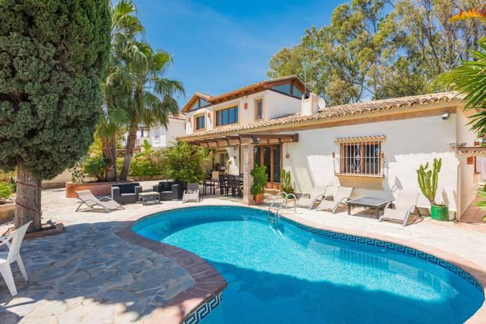 Bild: 6 rum villa på Estepona, Spanien