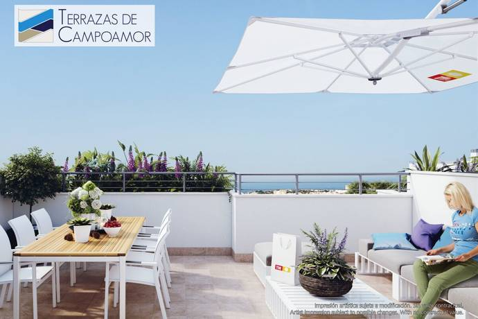 Bild: 4 rum bostadsrätt på Härlig takterrass!, Spanien Campoamor | Torrevieja