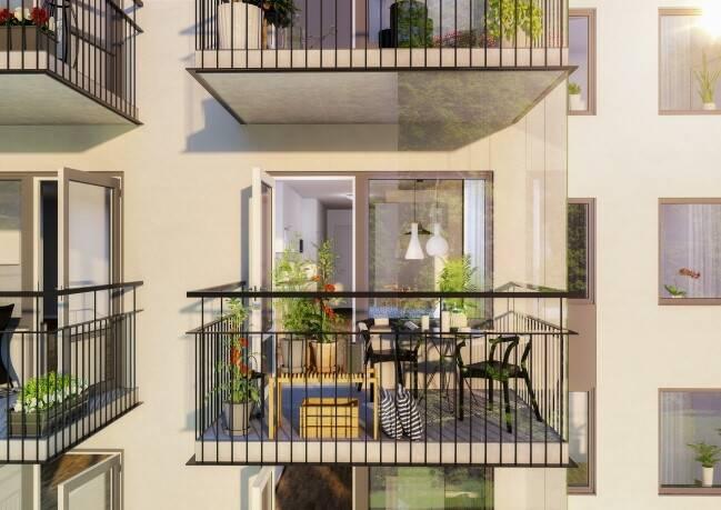 Bild: 2 rum bostadsrätt på Sköllerstagatan 54, Stockholms kommun Rågsved/Bjursätra
