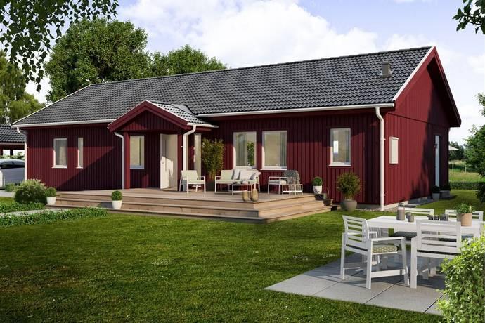 Bild: 4 rum villa på Gullregnsvägen 4, Götene kommun Lundsbrunn