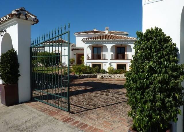 Bild: 6 rum villa på Stor villa med förtrollande uteservering, Frigiliana, Spanien Frigiliana